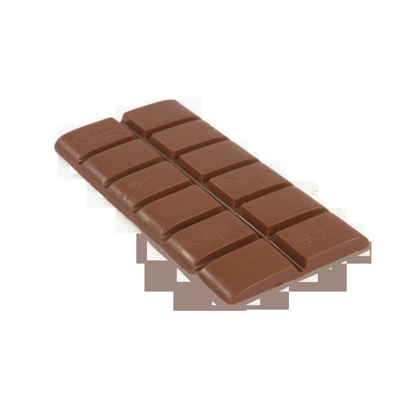 tablette de chocolat au lait 43 sans sucre. Black Bedroom Furniture Sets. Home Design Ideas