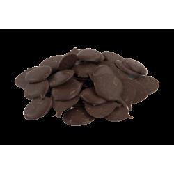 Pistoles chocolat Noir sans sucre - 78%